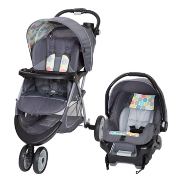 Baby Trend EZ- Ride 35 Travel System Stroller- Funfetti by Baby Trend