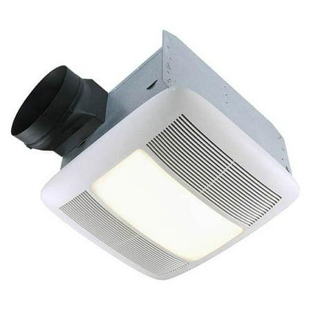 Broan-Nutone QTXEN150FLT Ultra Silent Bathroom Fan / Light / Night-Light - ENERGY