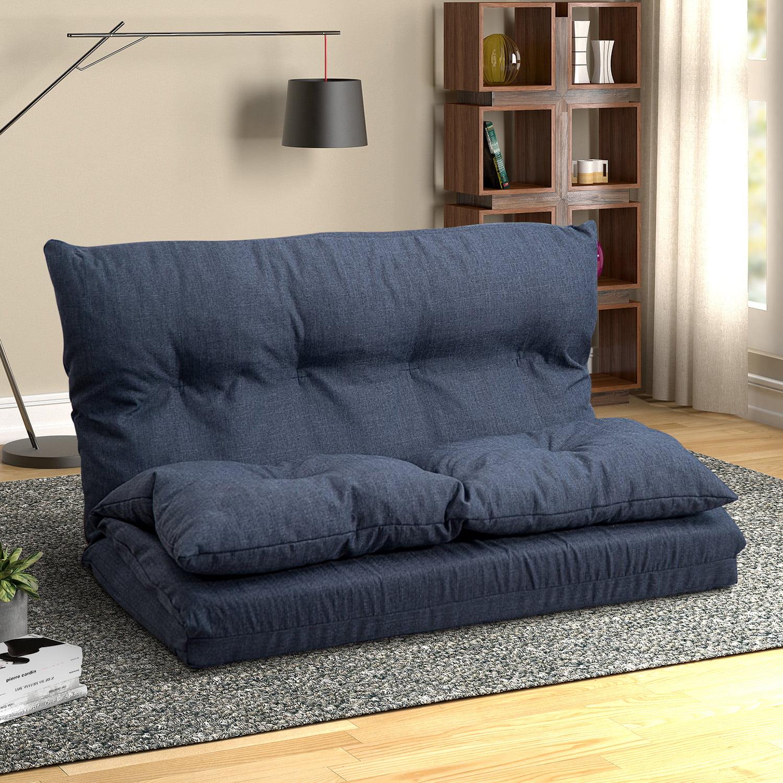Floor Sofa Bed Folding Futon Chaise Lounge Sofa Gaming