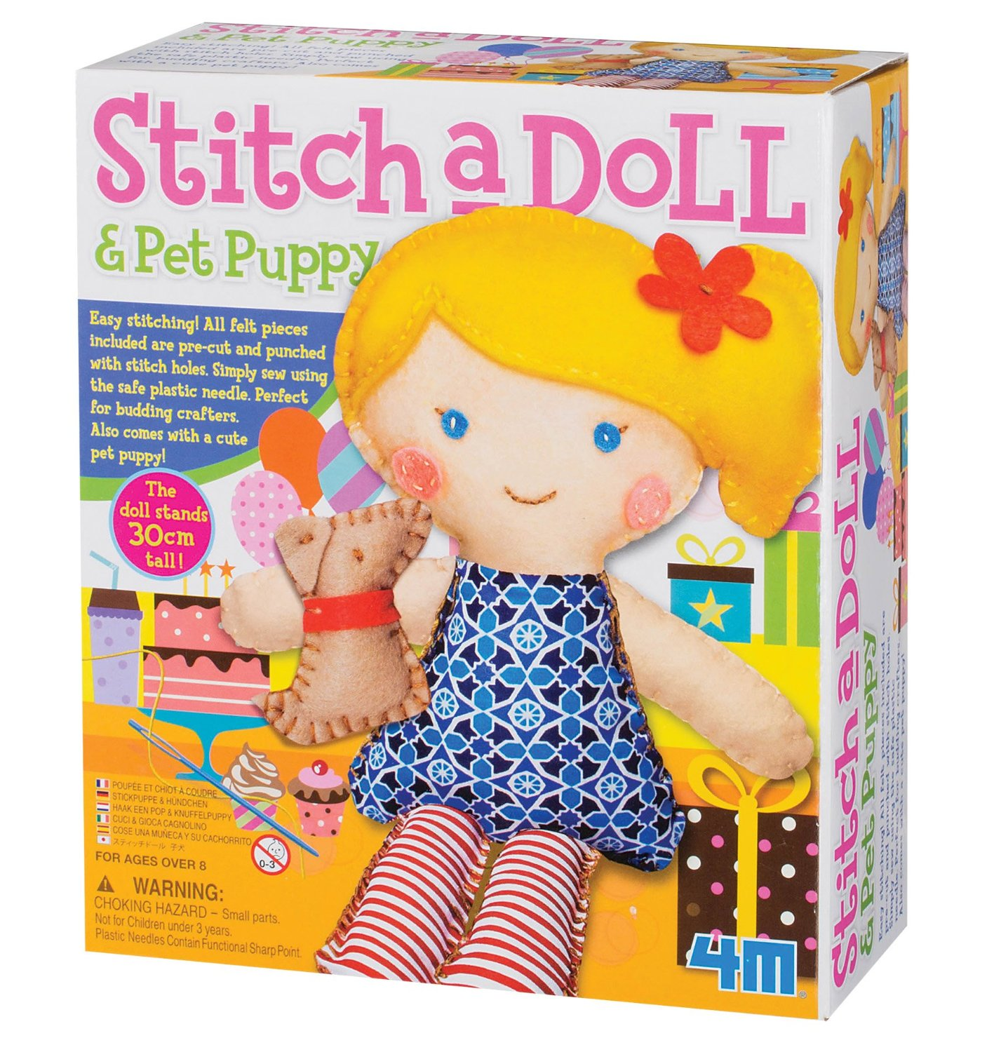 4M Stitch A Doll & Pet Puppy