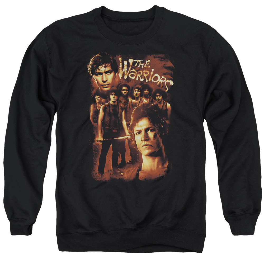 Warriors 9 Warriors Mens Crewneck Sweatshirt