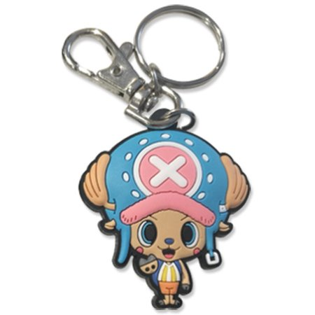 Key Chain - One Piece - Chopper PVC 2'' New ge48144 - image 1 of 1