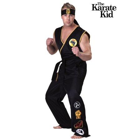 Plus Size Cobra Kai Costume - Cobra Kai Skeleton Costume