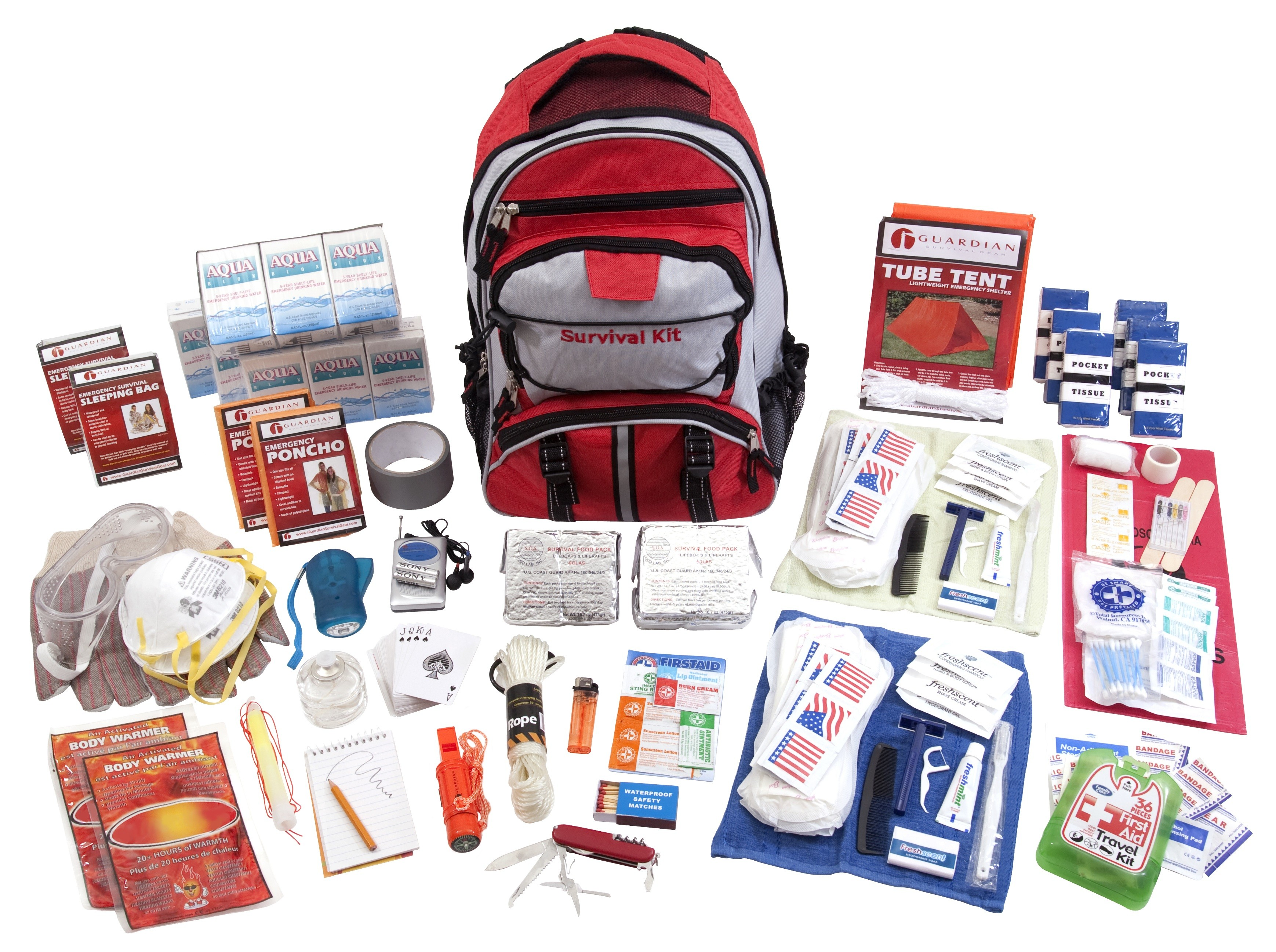 Guardian SKT2 Elite Survival Kit 2 Person by Guardian Survival Gear