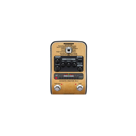 ZOOM AC-2 Acoustic Creator Pedal & DI for Acoustic Guitar – AC2 (Zoom Pedal Manual)