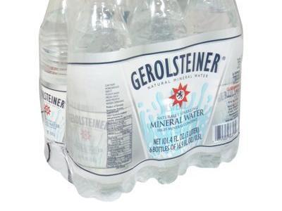 4 Pack : Gerolsteiner Mineral Water, 16.9-ounce Bottles by Gerolsteiner Brunnen