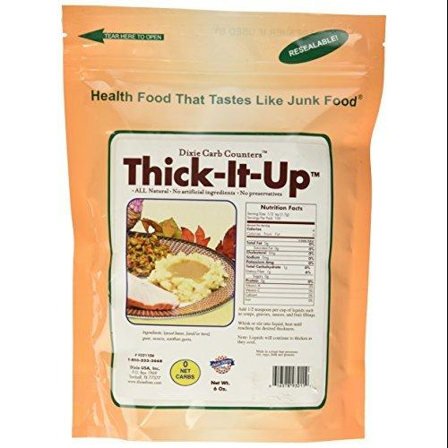 Thick-It-Up Low Carb Food Thickener: Make Your Health Food Taste Like Junk Food Great for... by Dixie Carb Counters