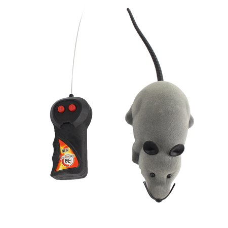 Electronic Rat Mouse Mice Toy,Wireless Remote Control RC Electronic Rat Mouse Mice Toy For Cat Puppy Xmas Gift ()