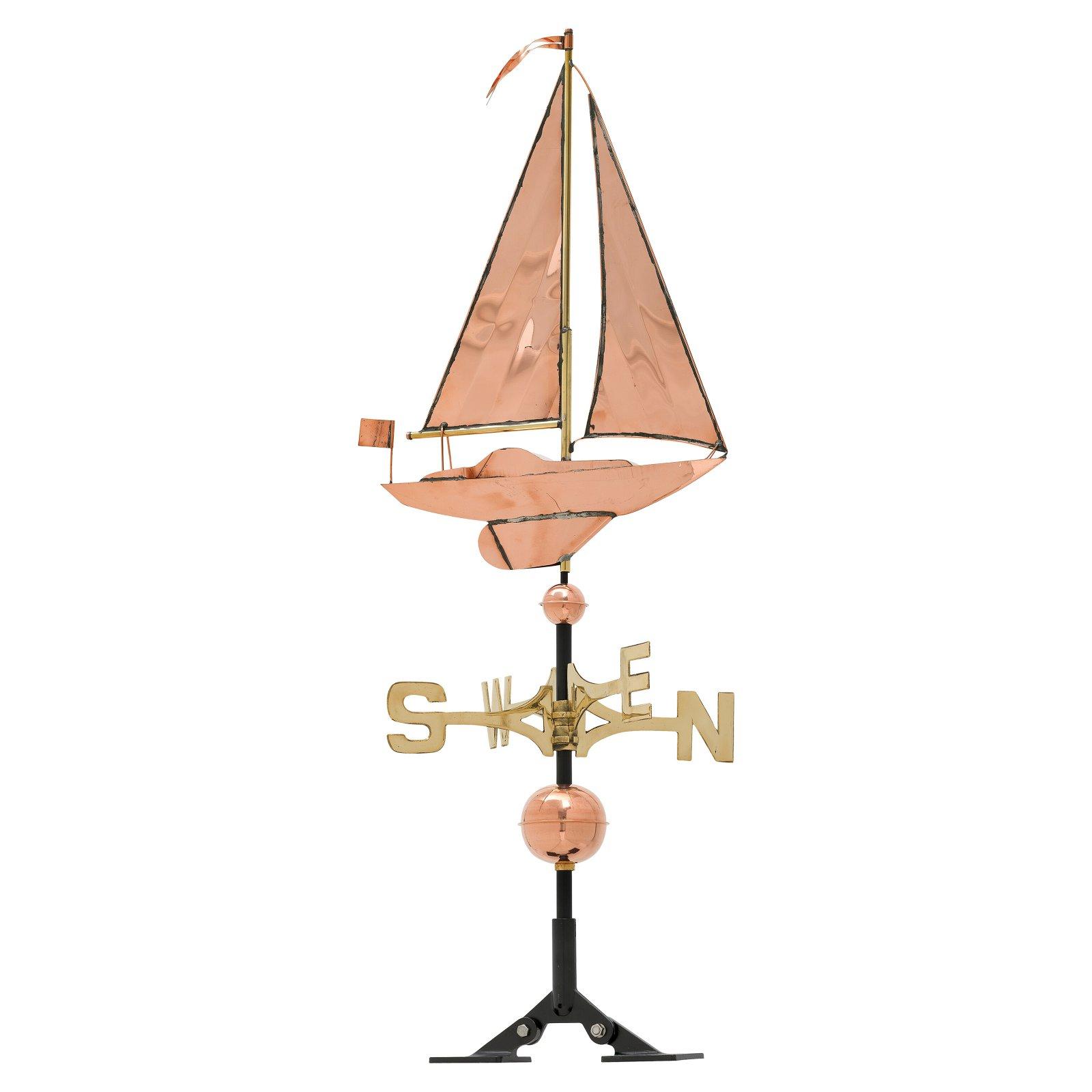 Fleeting Sailboat