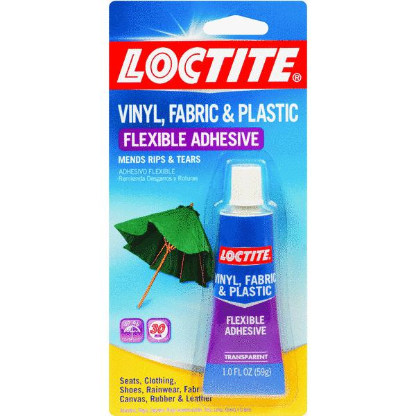 Loctite Vinyl, Fabric & Plastic Flexible Repair Adhesive