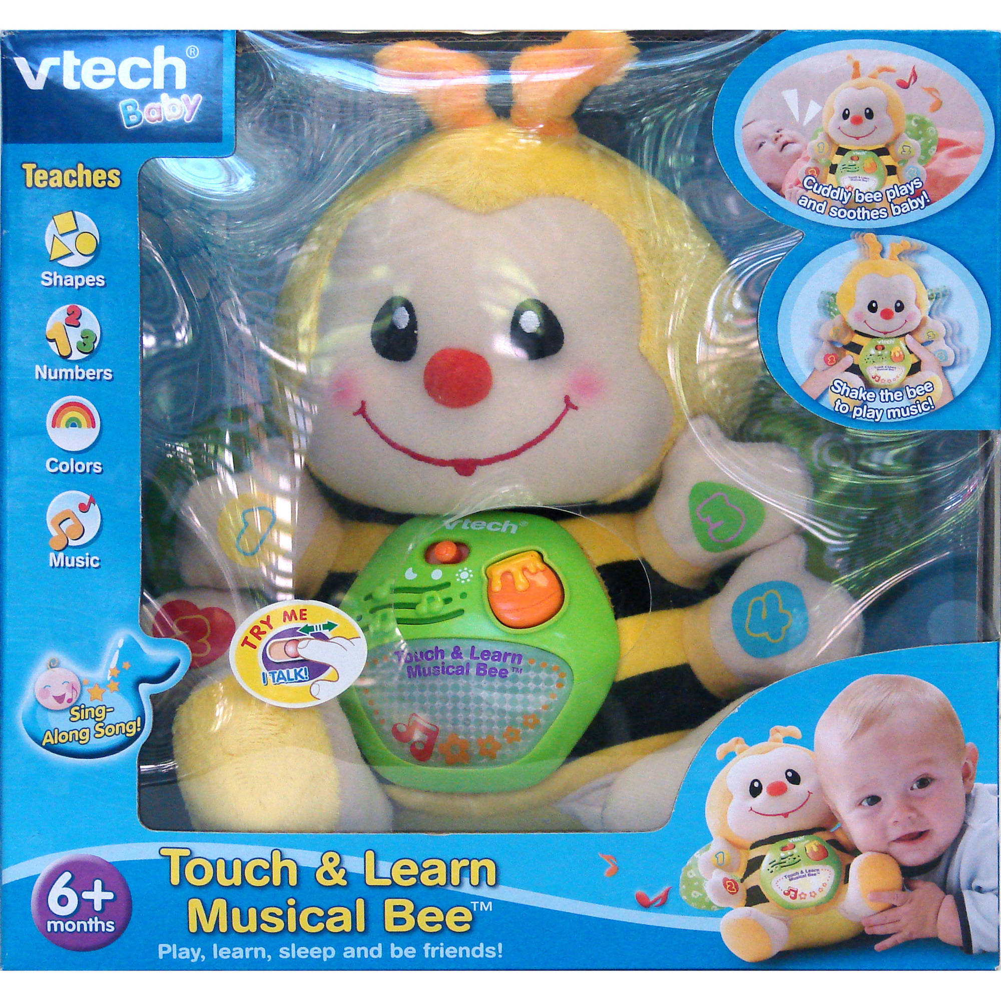 Vtech Touch and Learn Musical Bee baby Learning Educational Toy