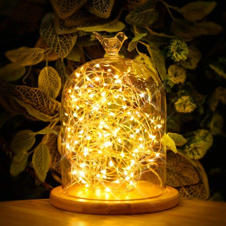 Kohree Led String Lights Usb Ed Multi Color Changing With Remote 50leds Indoor Decorative Wire