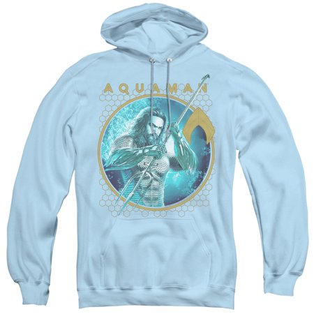 Aquaman Movie - Trident Of Neptune - Pull-Over Hoodie - Large