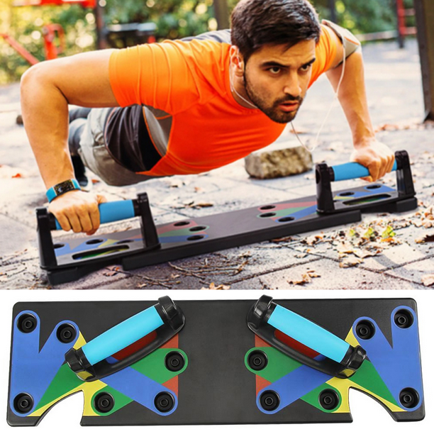 Glossia Body Building Pliable Push Up Rack Board Fitness Exercice Complet Stands Push-Up pour la Formation du Corps