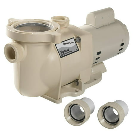 NEW PENTAIR 340040 SuperFlo Inground Swimming Quiet Pool Pump 2 Hp - Pentair Swimming Pools