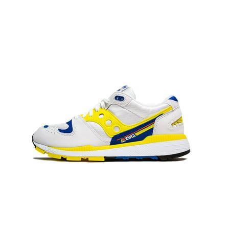 Mens Saucony Azura OG 30th Anniversary White Yellow Blue S70437 1