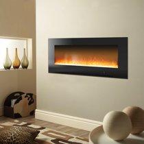 Cambridge Metropolitan Wall Mount Electric Fireplace Heater 56