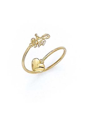 Product Image 14k Yellow Gold Cupid Toe Ring - .9 Grams