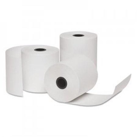 Universal Office Products Unv35775 Deluxe Direct White Verifone Thermal Printing Paper Rolls 3 In X 85 Ft