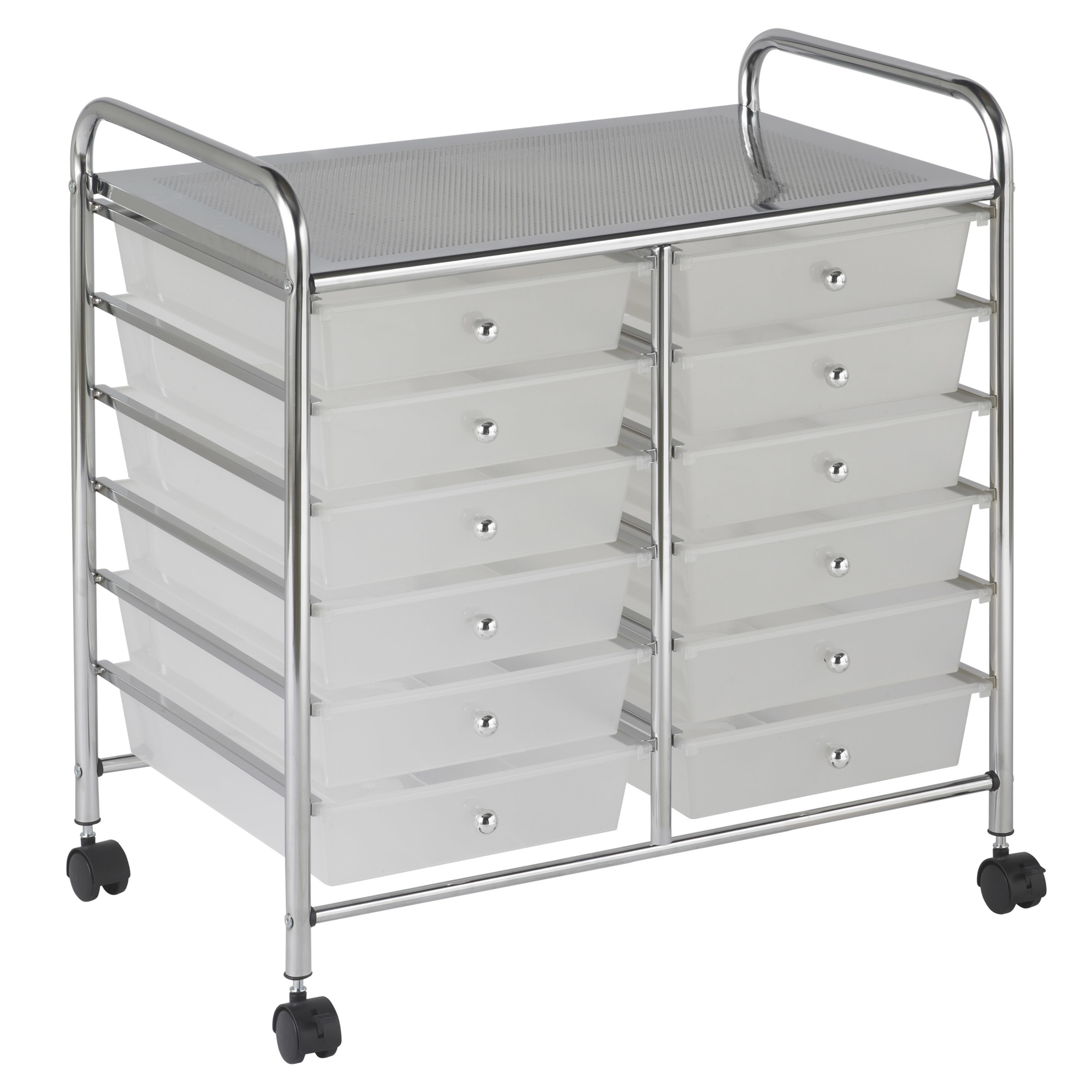 12-Drawer Mobile Organizer - Multiple Colors