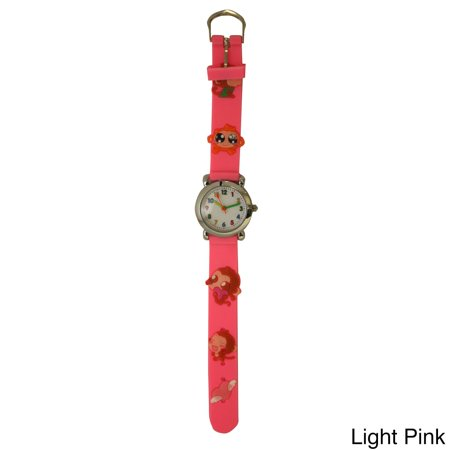 Olivia Pratt  Children's Cutie Monkeys Silicione Watch One Size