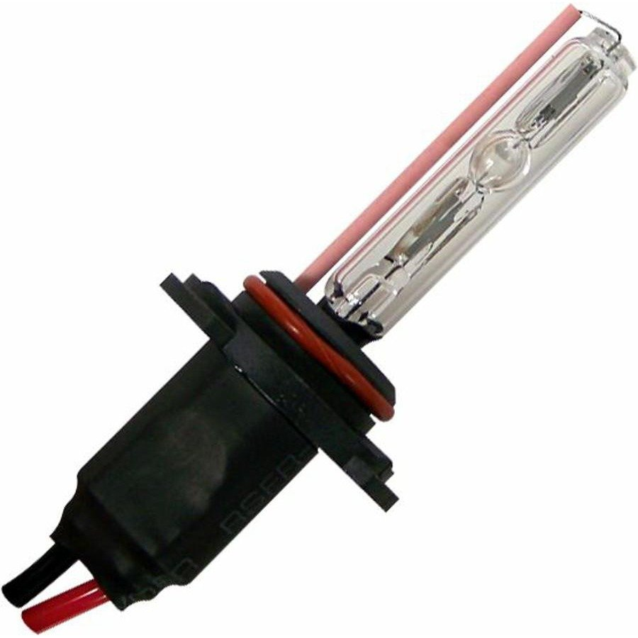 Two Ion HID 10,000 Color Temp H10 Single Stage Bulbs with Plug N Play Wire Harne