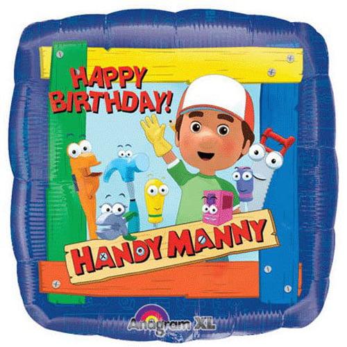 Handy Manny 'Happy Birthday' Foil Mylar Balloon (1ct)