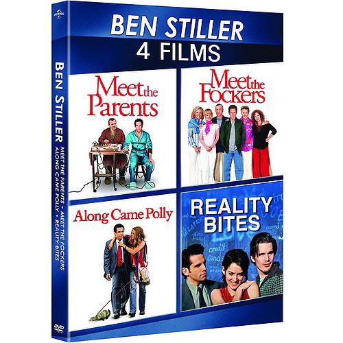 Ben Stiller: 4-Movie Spotlight Series Along Came Polly   Meet The Fockers   Meet The Parents   Reality Bites... by