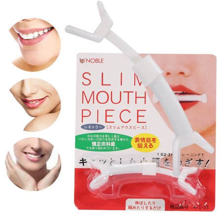 WALFRONT 1Pc Fashionable Slim Mouth Exercise Piece Facial Muscle Exerciser Smile Cheek Toning Tool,slim mouth, smile cheek - image 3 of 9