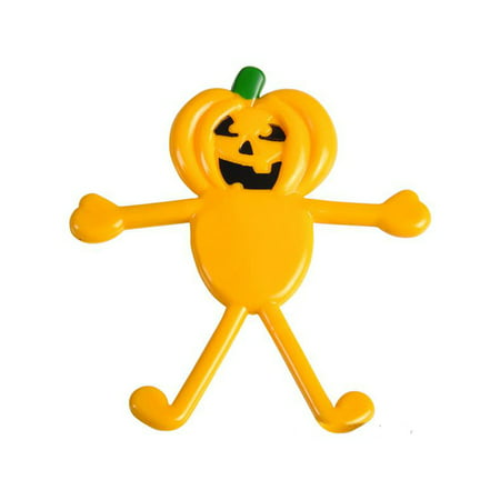 Classic Halloween Pumpkin Character Bendable Bendy Toy Figure Decoration