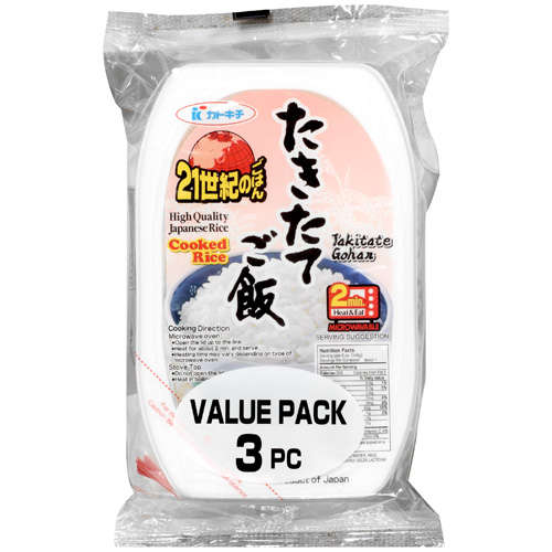 Jfc International Inc. High Quality Japanese Cooked Rice, 21.16 oz by Generic