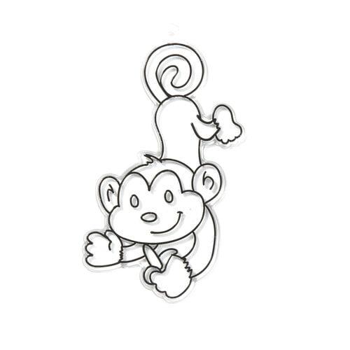 Kids Craft Monkey Sun Catcher