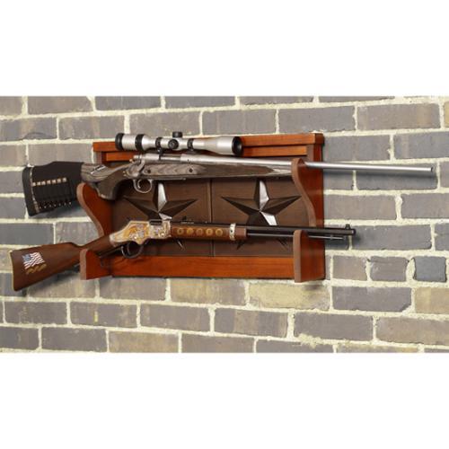 American Furniture Classics Lone Star 2 Gun Wall Rack by Overstock