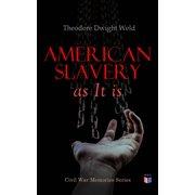 American Slavery as It is - eBook