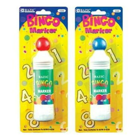 BAZIC Assorted Color 40 ml Bingo Marker Case Pack 24