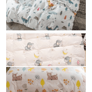 Boyijia Baby Bed Mattress Cover Cotton Soft Crib Fitted Sheet Printed Newborn Bedding Supplies, Type 2