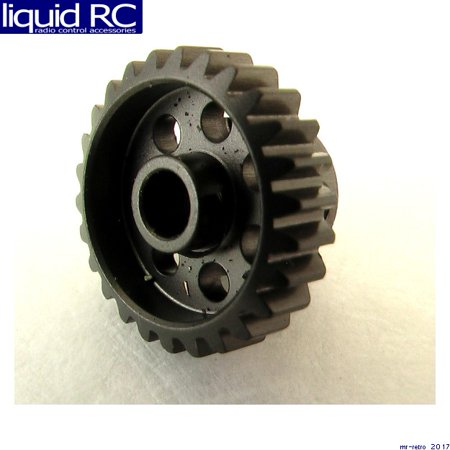 Hot Racing HAG826 26t 48p Hard Anodized Aluminum Pinion Gear 1/8 Inch Bore