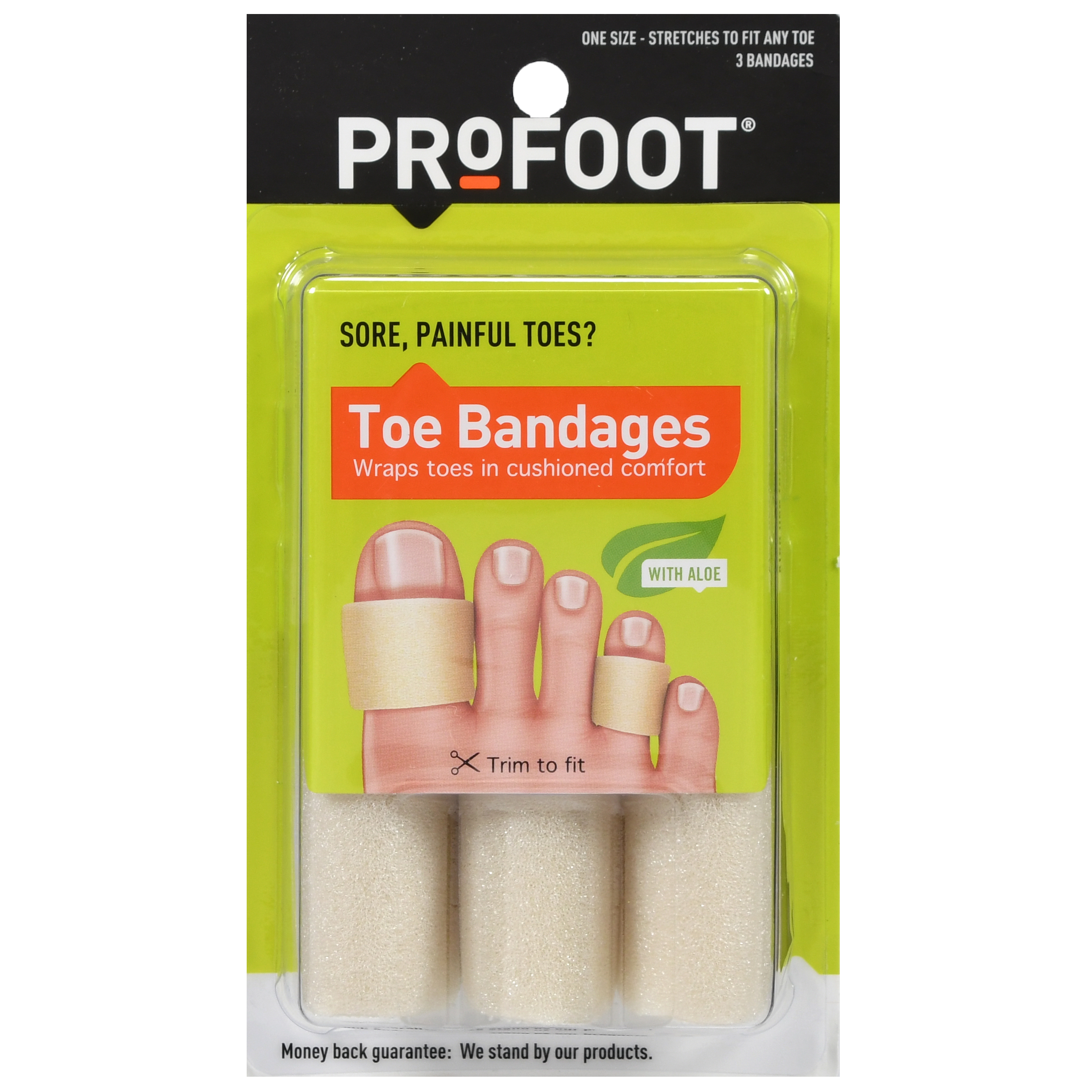 Profoot® Toe Bandages 3 ct Pack