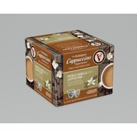 Victor Allen's Indulgent Cappuccino Experience French Vanilla K-Cup Coffee Pods, 42 Count