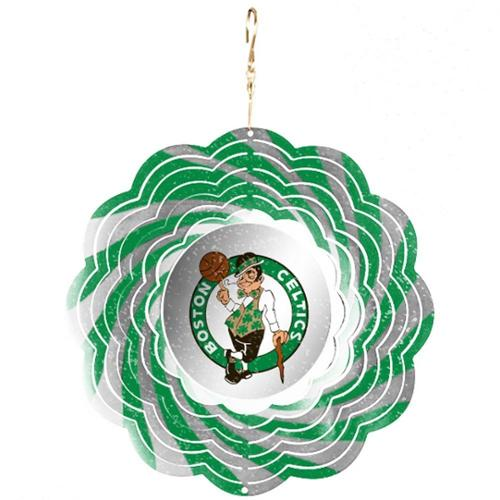 Boston Celtics Official NBA 8 inch  Wind Spinner by Evergreen