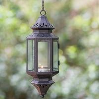 Richland Hanging Decorative Metal Lantern