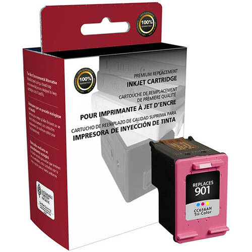 CIG Remanufactured Tri-Color Ink Cartridge (Alternative for HP CC656AN 901) (360 Yield)
