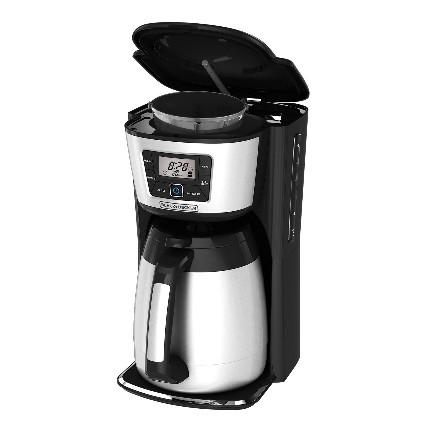 BLACK+DECKER 12-Cup Programmable Coffee Maker with Thermal Carafe, CM2035B
