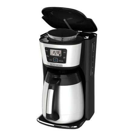 BLACK+DECKER 12-Cup Programmable Coffee Maker, Thermal Carafe, CM2035B - Walmart.com