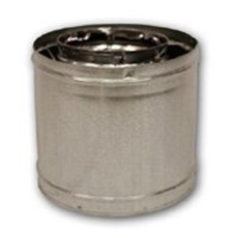 """2-Wall Chimney Support, 12"""", Stainless Steel FMI PRODUCTS, LLC 12S-8DM"""