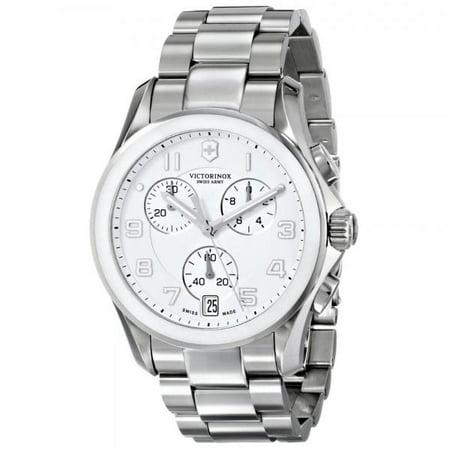241538 Victorinox Chrono Classic Chronograph Mens Watch - White Dial