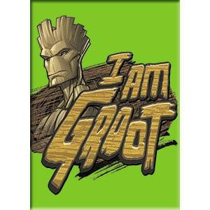 Magnet - Guardians of the Galaxy - Groot I Am Headshot m-mvl-0067 - image 1 de 1
