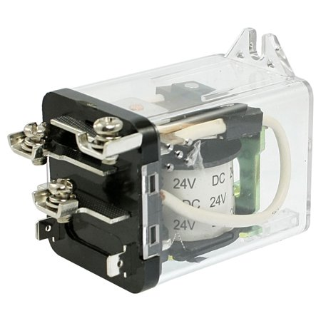 Unique Bargains Unique Bargains JQX-59F JQX-80F-1Z DC 24V Coil 80A SPDT High Power Relay 1 NO N/O 1 NC N/C