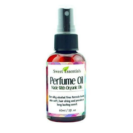 Nag Champa | Fragrance / Perfume Oil | 2oz Made with Organic Oils - Spray on Perfume Oil - Alcohol & Preservative Free