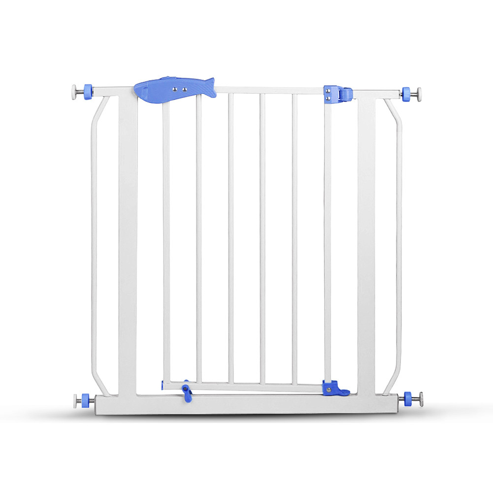 Children Baby Security Easy-Close Metal Safety Gate by Unbranded